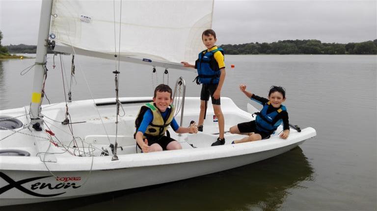 Dériveur et catamaran camp enfants 2017 (11)