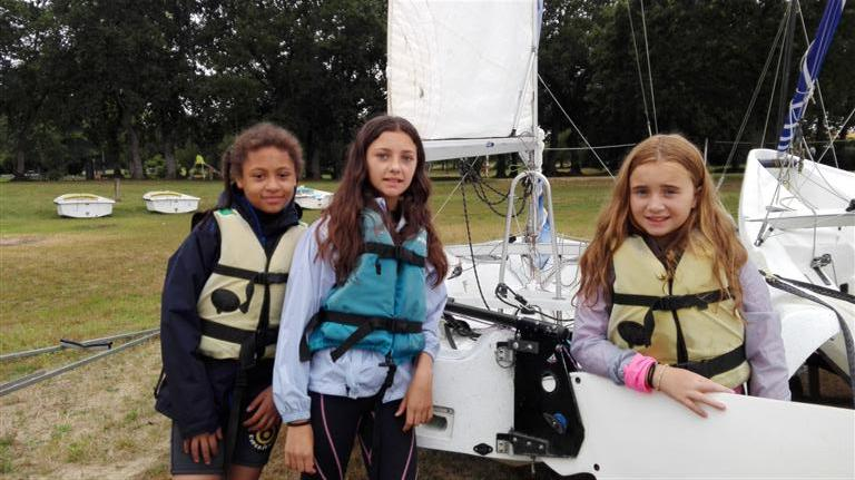 Dériveur et catamaran camp enfants 2017 (2)