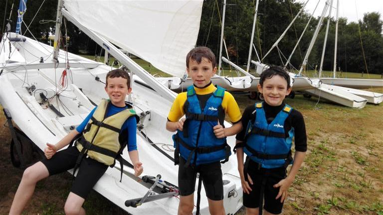 Dériveur et catamaran camp enfants 2017 (5)