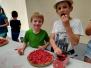 cueillette et tartes aux fraises été 2019