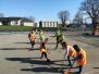 Hockey et roller avec Mathilde