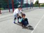 Initiation au skate avec une école