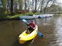 Kayak étang de la forêt Brandivy 2019