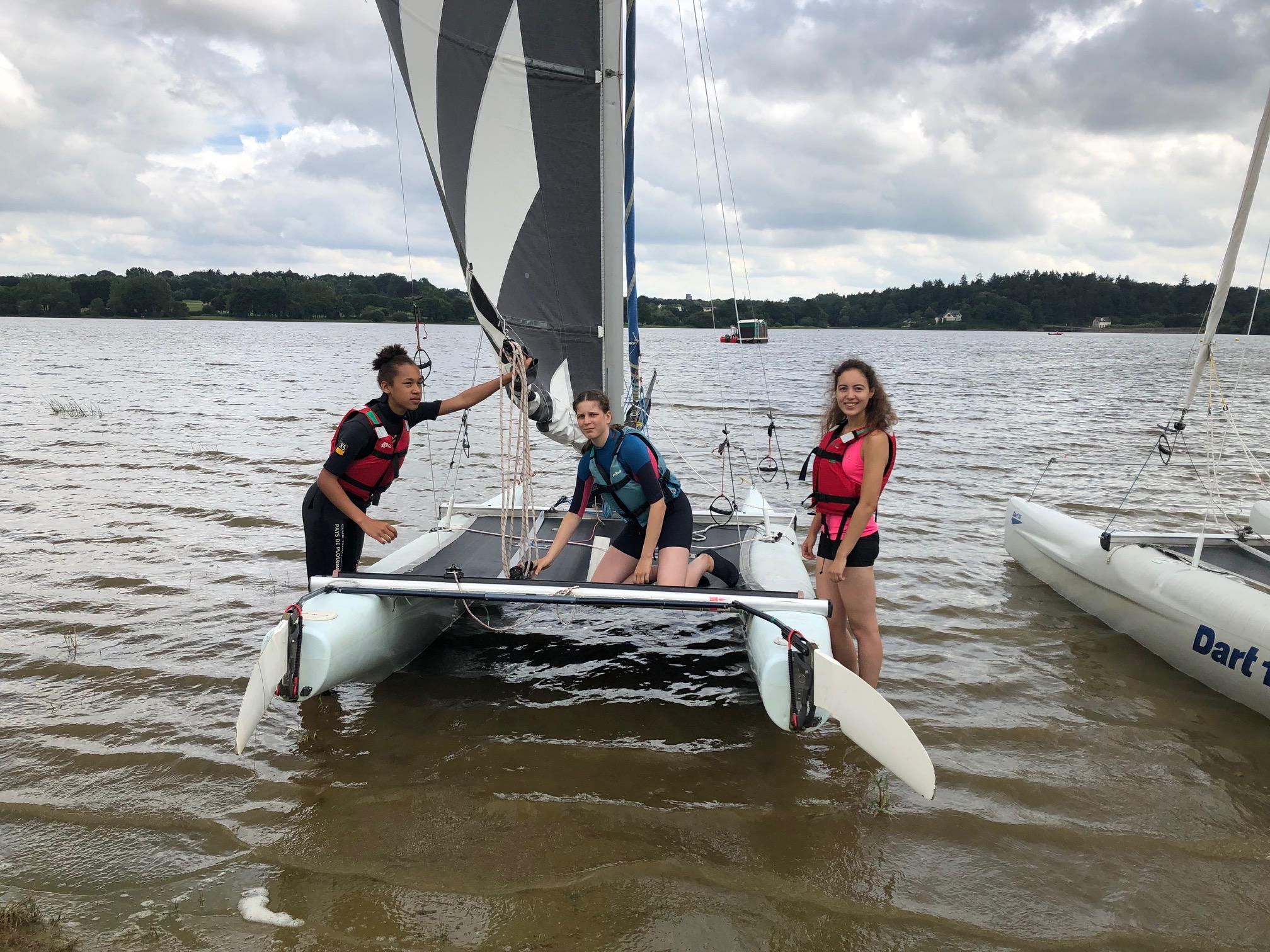 Catamaran camp ados 2018